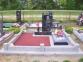Красный декоративный щебень для памятника 20 кг 1