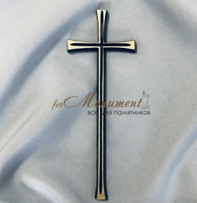 Крест католический латунь 7,5х19,5 см арт.103