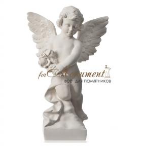 Ангелок с цветами 55 см, art.274