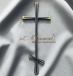 Крест православный латунь 10,5х26 см арт.104