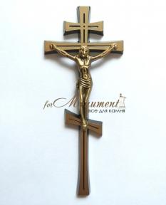 Крест православный бронза 2620X Jorda