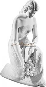 Девушка с цветами 58 см, art. 0494