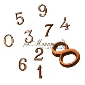 Цифры бронзовые 3 см Caggiati (Каджиати)