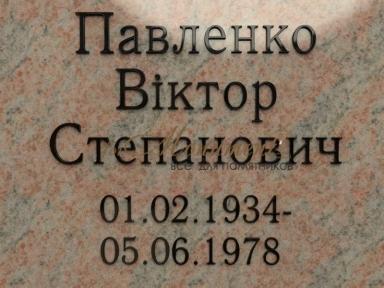 Буквы латунные с покрытием 3,2 см AntiquaNormal
