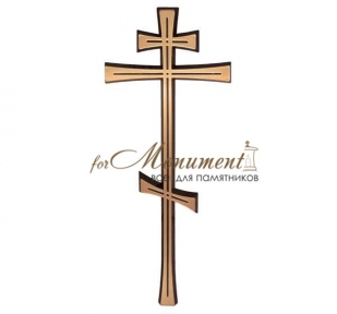 Крест православный бронза 2600Х Jorda