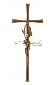 Крест с колоском 40х16 см бронза 23613 Caggiati (Каджиати)