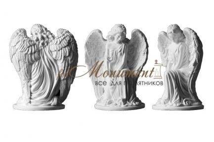 Ангел девушка на колене миниатюра СК-010