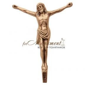 Распятие католическое бронза 2019 Lorenzi (Лорензи) 19х25 см