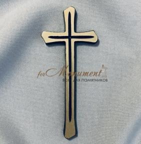 Крест католический латунь 5х11 см арт.113