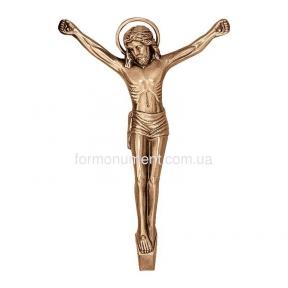 Распятие католическое бронза 3560 Lorenzi (Лорензи) 20х30 см