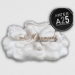 Скульптура ангелок на облаке А25