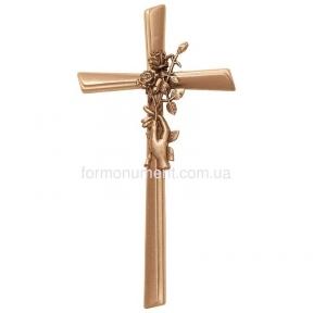 Крест с ладонью и розами 2121 Lorenzi (Лорензи)
