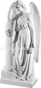 Ангел с колонной 81 см, art.276