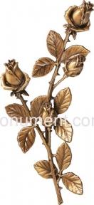 Розы бронза 35 см, 29112 Caggiati