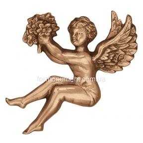 Барельеф ангел с цветами 3002 Lorenzi (Лорензи)