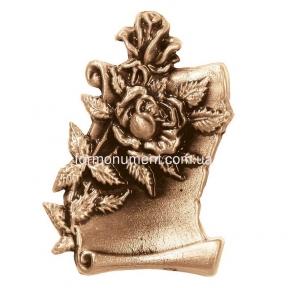 Барельеф свиток с цветами 3060 Lorenzi (Лорензи)