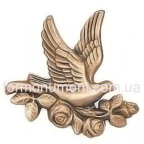 Барельеф голубь с цветком 3084 Lorenzi (Лорензи)