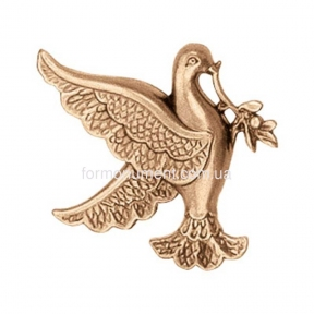 Барельеф голубь с цветком 3131 Lorenzi (Лорензи)