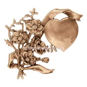 Барельеф сердце в цветах 3147 Lorenzi (Лорензи)