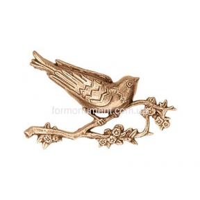 Барельеф птица не ветке 3148 Lorenzi (Лорензи)