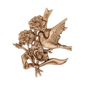 Барельеф птица с цветами 3564 Lorenzi (Лорензи)