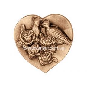 Барельеф птицы в сердце 3567 Lorenzi (Лорензи)