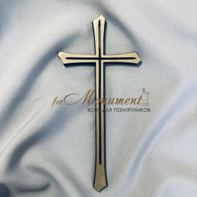 Крест католический латунь 11х24 см арт.112
