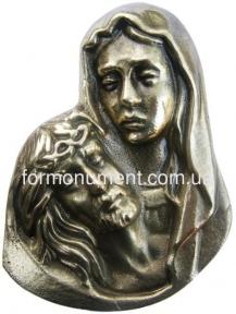 Барельеф накладной Мария с Иисусом арт.316