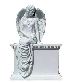 Ангел девушка на тумбе СК-025
