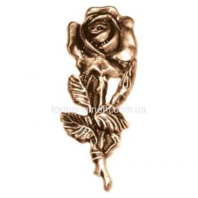 Цветок розы 3022 Lorenzi (Лорензи) 4х10 см
