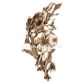 Цветы бронза 3023 Lorenzi (Лорензи) 10х20 см