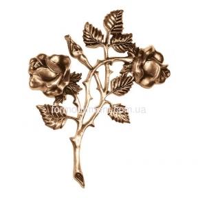 Розы бронзы 3107 Lorenzi (Лорензи) 14х18 см