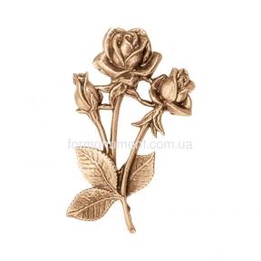 Три розы из бронзы 3127 Lorenzi (Лорензи) 10 см