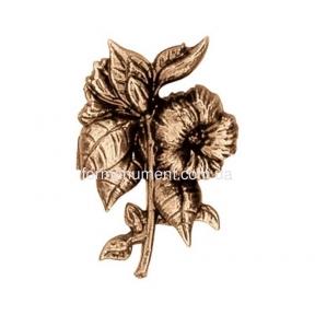 Цветок из бронзы 3128 Lorenzi (Лорензи) 9см