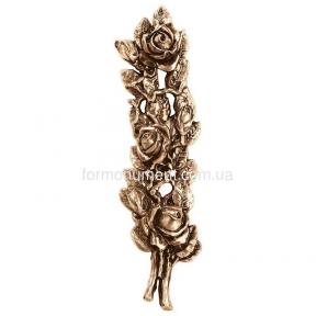 Ветвь розы бронза 3181 Lorenzi (Лорензи) 9х34 см