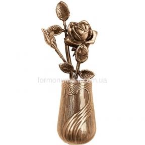 Розы в вазе 3582 Lorenzi (Лорензи) 11х28 см