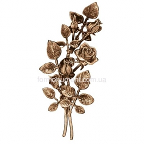 Ветви розы бронза 3734 sx Lorenzi (Лорензи) высота 38 см