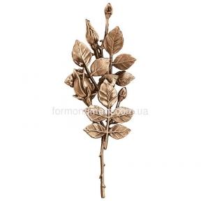 Прямая ветка с розами 3746 Lorenzi (Лорензи) 10х28 см