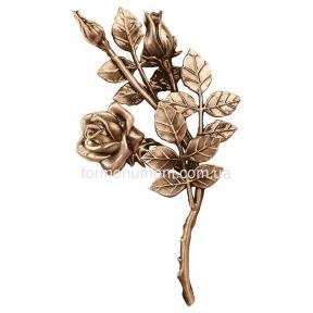 Ветвь роз бронза 3748 dx Lorenzi (Лорензи) 15x30 см