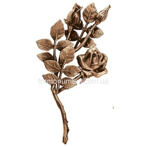 Ветвь роз бронза 3748 sx Lorenzi (Лорензи) 15x30 см