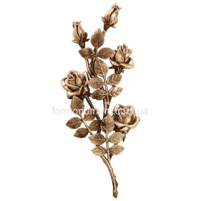 Ветвь роз бронза 3750 Lorenzi (Лорензи) 17х40 см
