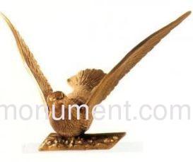 Фигурка голубь бронза 33546 Caggiati
