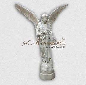 Статуя ангел девушка с широкими крыльями А22