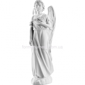 Ангел с цветами 56 см, art.2368