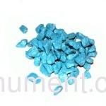 Синий декоративный щебень для памятника 20 кг