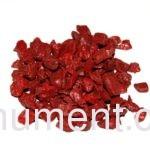 Красный декоративный щебень для памятника 20 кг