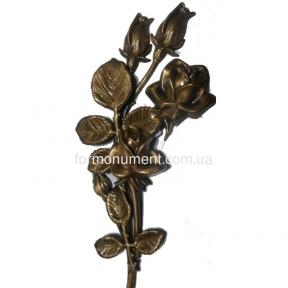 Розы из бронзы арт.3713 Lorenzi