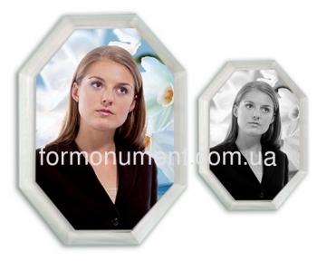 Фото на кристалле многоугольник 13х18 см