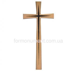 Красивый крест из бронзы 2619 Jorda 40x17 см