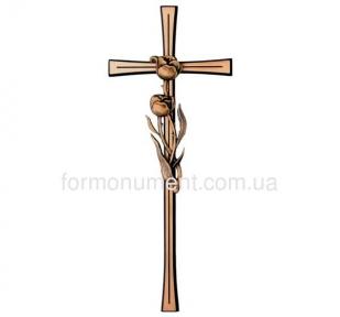 Крест с тюльпанами 2658 Jorda 40x16 см